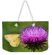 Feeding On Thistle Weekender Tote Bag