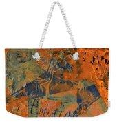 Feel Emotion Orange And Green Weekender Tote Bag