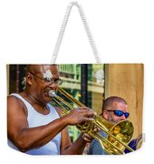 Feel It - New Orleans Jazz  Weekender Tote Bag