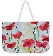 Feel The Summer 1 - Poppies Weekender Tote Bag