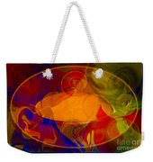 Feeling At Home With Uncertainty Abstract Healing Art Weekender Tote Bag