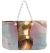 Feeling The Beat Weekender Tote Bag by Betty LaRue