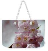 Feelings Of Flowers Weekender Tote Bag