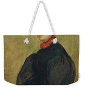 Felicie De Fauveau, 1829 Oil On Panel Weekender Tote Bag