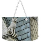 Feline Sentry Weekender Tote Bag