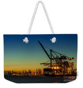 Felixstowe Docks Weekender Tote Bag by Svetlana Sewell