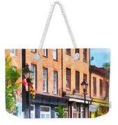 Fells Point Street Weekender Tote Bag