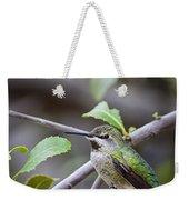 Female Anna's Hummingbird Weekender Tote Bag