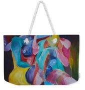 Female Art Weekender Tote Bag