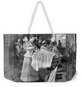 Female Barber-shop, 1895 Weekender Tote Bag