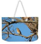 Female Bluebird Weekender Tote Bag