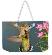 Female Broad-tailed Hummingbird Weekender Tote Bag