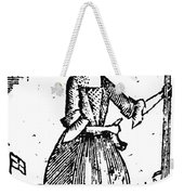 Female Continental Soldier Weekender Tote Bag