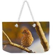 Female Housefinch Weekender Tote Bag