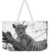 Female Leopard Weekender Tote Bag