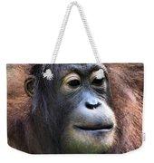 Female Orangutan Borneo Weekender Tote Bag