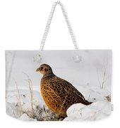 Female Pheasant Weekender Tote Bag