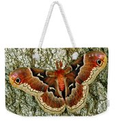 Female Promethea Moth Weekender Tote Bag