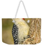 Female Red-bellied Woodpecker Weekender Tote Bag