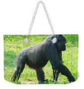 Female Western Lowland Gorilla Weekender Tote Bag