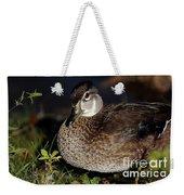Female Woodduck Weekender Tote Bag