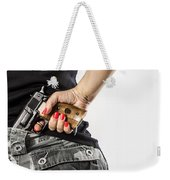 Feminin Agent Weekender Tote Bag