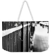 Fence At Eight  Weekender Tote Bag