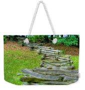 Fence Line Weekender Tote Bag by Dan Stone