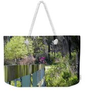 Fence Points The Way Weekender Tote Bag