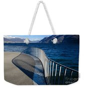 Fence With Shadow Weekender Tote Bag