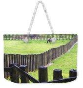 Fenced Weekender Tote Bag