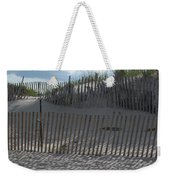 Fenced Dune Weekender Tote Bag