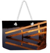 Fenced Reflection Weekender Tote Bag