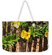 Fency Free Brazlian Flowers Weekender Tote Bag