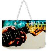 Fender Strat Weekender Tote Bag by Bob Orsillo