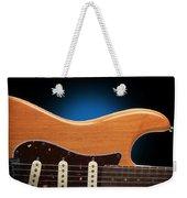 Fender Stratocaster Curves Weekender Tote Bag