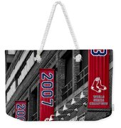 Fenway Boston Red Sox Champions Banners Weekender Tote Bag