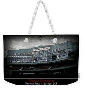 Fenway Memories - Poster 1 Weekender Tote Bag