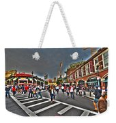 Fenway Park And Cask And Flagon Weekender Tote Bag