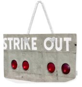 Fenway Park Strike - Out Scoreboard  Weekender Tote Bag
