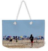 Beach Scene - Fenwick Island Delaware Weekender Tote Bag