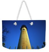 Fenwick Island Lightouse And Blue Sky Weekender Tote Bag
