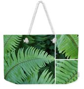 Fern Collage Weekender Tote Bag