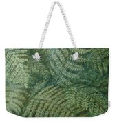 Fern Frenzy Weekender Tote Bag by Joann Renner