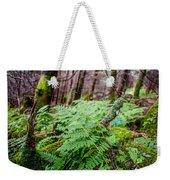 Fern In Forest Weekender Tote Bag