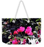 Fernwood Botanical Garden Bougainvillea Niles Michigan Usa Weekender Tote Bag
