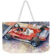 Ferrari 312 T2 Niki Lauda 1977 Monaco Gp Weekender Tote Bag