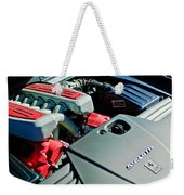 Ferrari 599 Gtb Engine Weekender Tote Bag