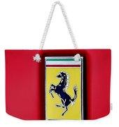 Ferrari Badge Weekender Tote Bag