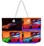 Ferrari Collage Weekender Tote Bag